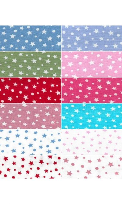 Starry Sky Polka Dots Soft Touch Printed 100% Cotton