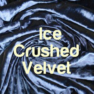 ICE CRUSHED VELVET