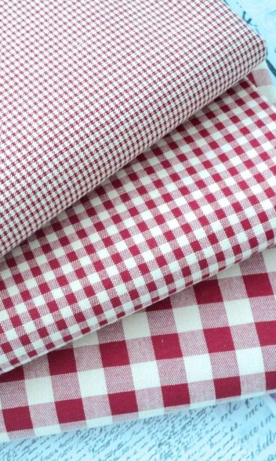 GINGHAM POLYCOTTONS