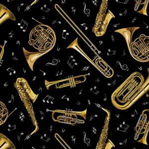 Black - A Brass Instrument