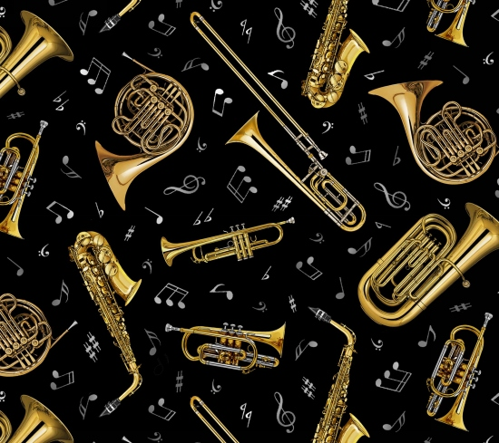 Black - A Brass Instrument