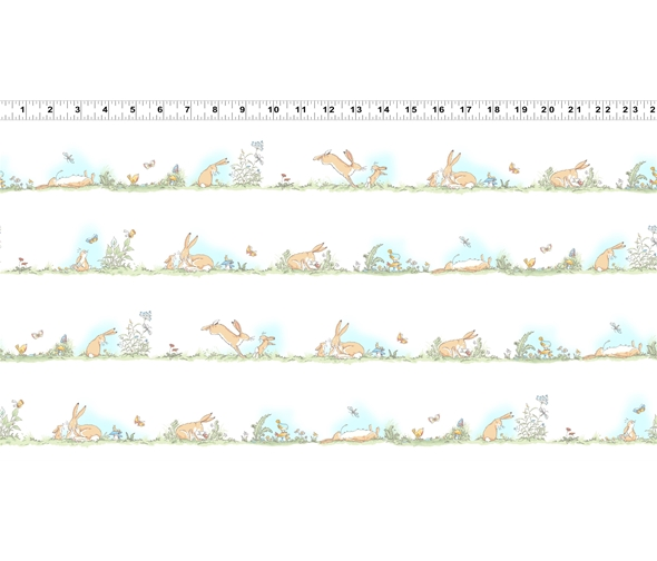 White Border Stripe by Anita jeram