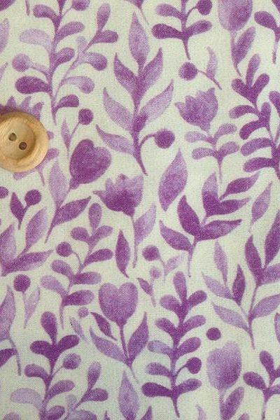 Purple luna digital print