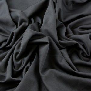 dark black scuba Fabric