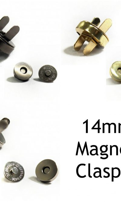 for Bags,purses,garments and more BUTTON HEMLINE MAGNETIC CLIP