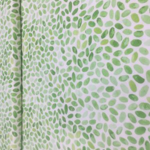 green leaves print digital luna