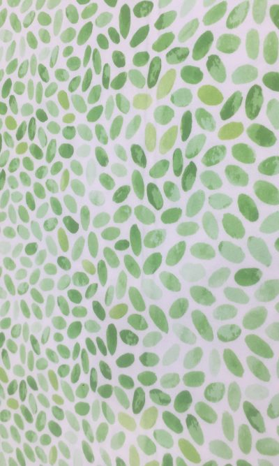 green leaves print digital luna