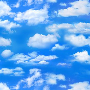 Blue Skies,Billowy Clouds - Landscape Medley