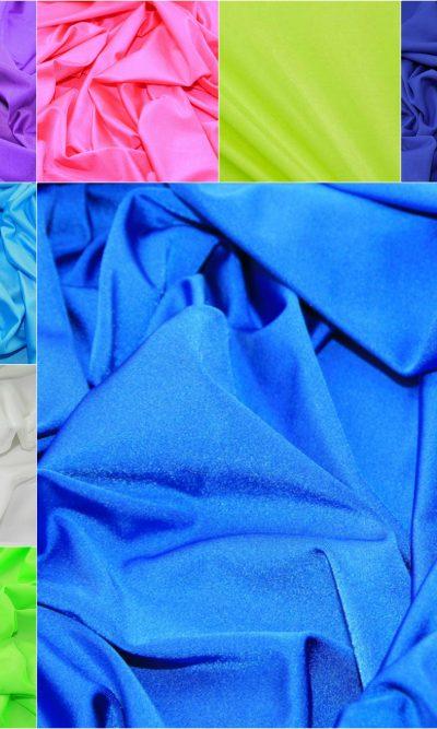 Plain Lycra Stretch Fabric