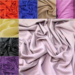 Plain Scuba Jersey Fabric