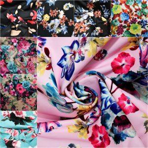 Printed Scuba Jersey Fabric