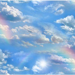 Blue Sky Clouds & Rainbows - Landscape Medley