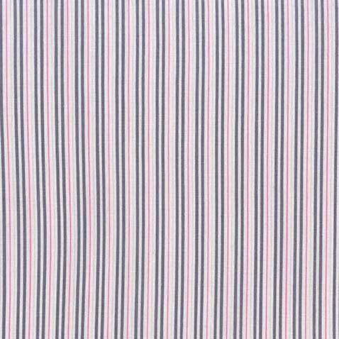 beautiful pink ticking away fabric by Michael miller