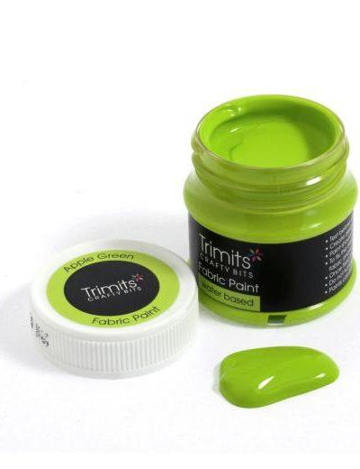 apple-green-trimits-50ml-fabric-paint-pots-green-shades