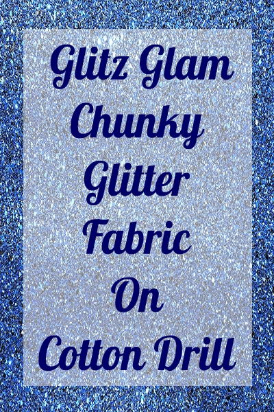 Glitter Chunky Sparkle on Drill