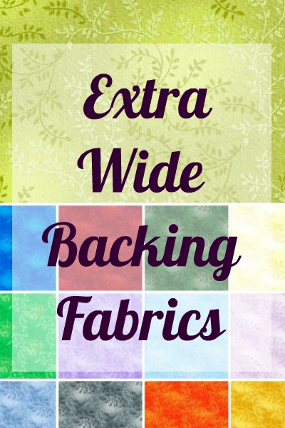 Extra Wide Backing Fabric