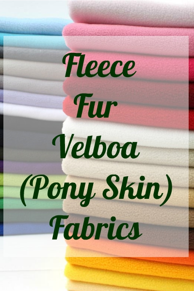 FLEECE, FURS & VELBOA