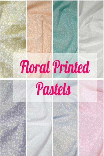 Floral Printed Pastels