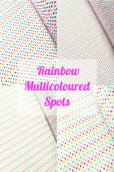 Multicoloured Spots 2mm / 5mm / 2cm