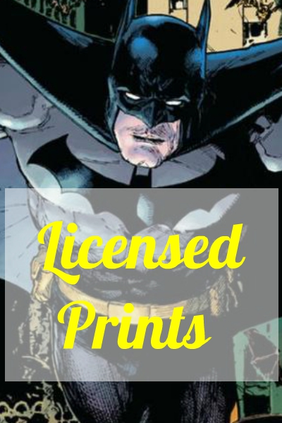 LICENSED PRINTS