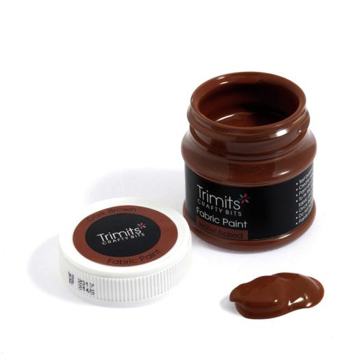 dark-brown-trimits-50ml-fabric-paint-pots-brown-shades
