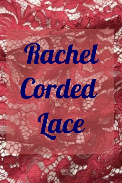 RACHEL CORDED LACE