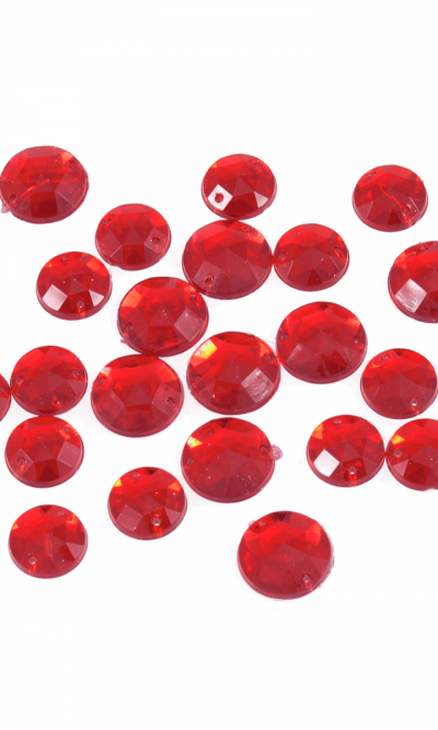 red-round-sew-on-bling-gems