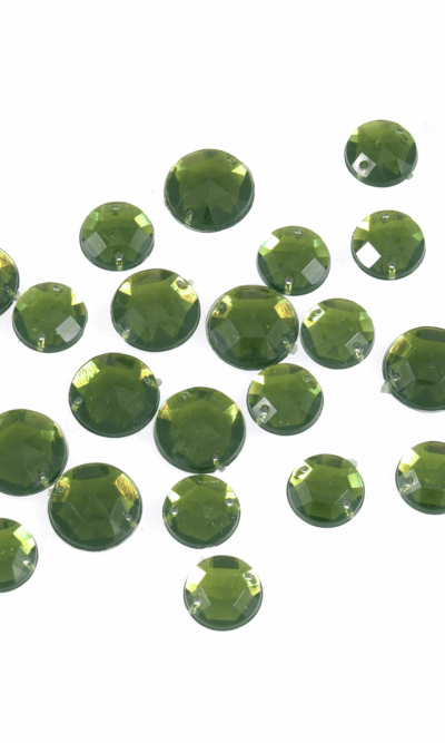 green-round-sew-on-bling-gems