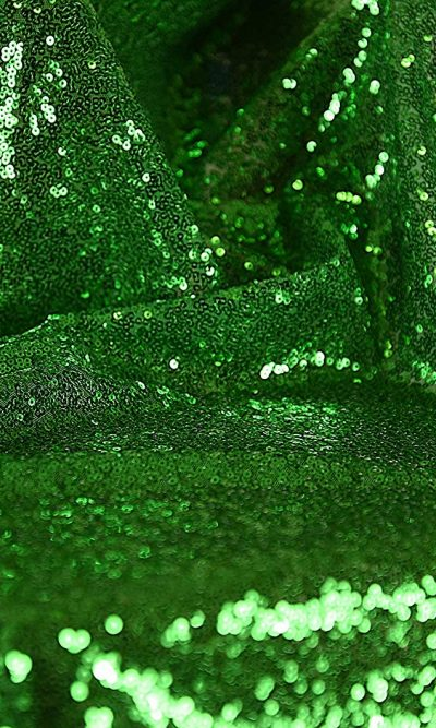 emerald-green-all-over-sewn-on-sequin-mesh-net-fabric