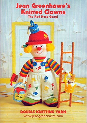jean-greenhowe-knitting-pattern-book-knitted-clowns