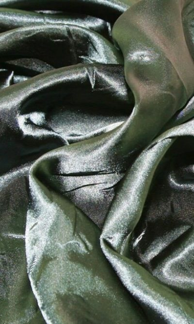 bottle green Silky Satin Fabric Dress Making Material Lining 150cm/60""