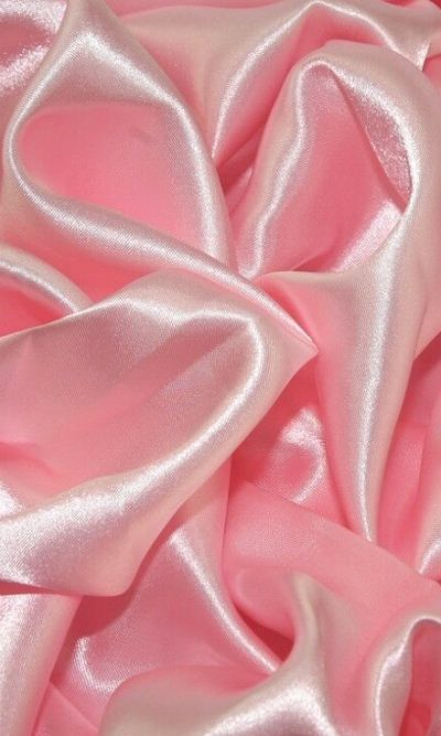 """Pale Pink Silky Satin Fabric Dress Making Material Lining 150cm/60"""""""