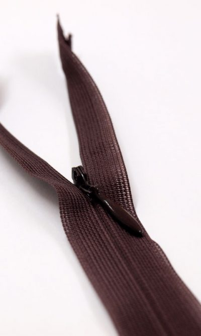 14-35cm-brown-invisible-concealed-zip
