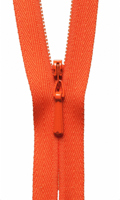16-41cm-orange-invisible-concealed-zip