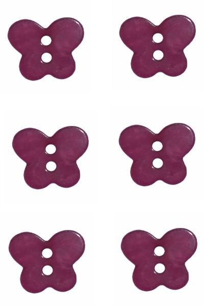 butterfly-button-plain-plastic-burgundy