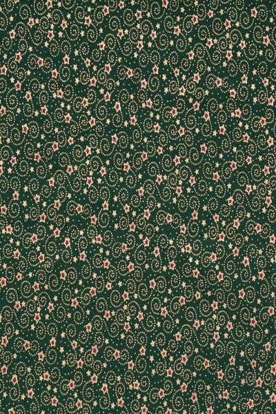 green-festive-stars-christmas-fabric