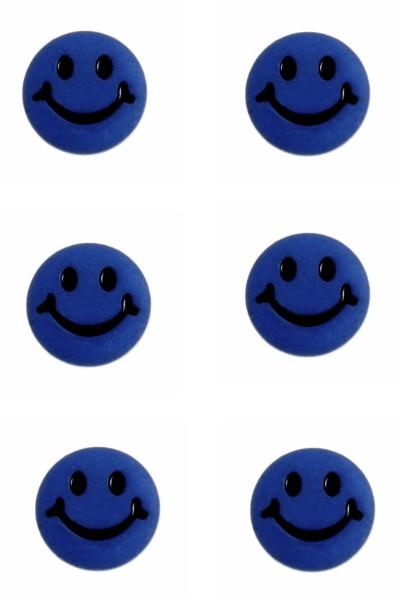 smiley-face-button-royal-blue-colour