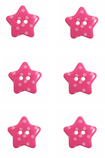 star-button-white-dots-pink-colour