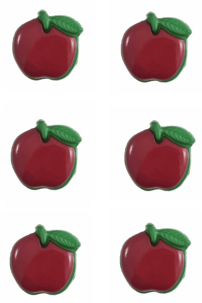 apple-button-fruit-red-green-colour