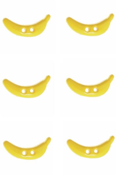banana-button-fruit-yellow-colour