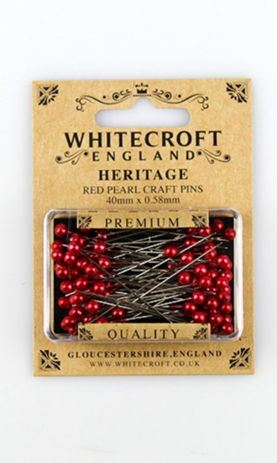 red-pearl-craft-pins-40-x-0-58mm