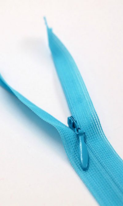 9-23cm-turquoise-invisible-concealed-zip