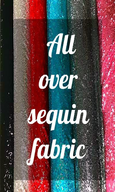 All-Over Sequin Fabric