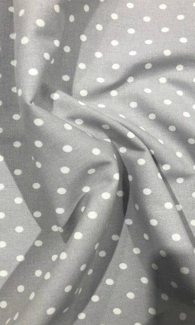 grey-polka-dot-print-fabric