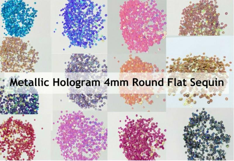 Laser Round Flat Sequin