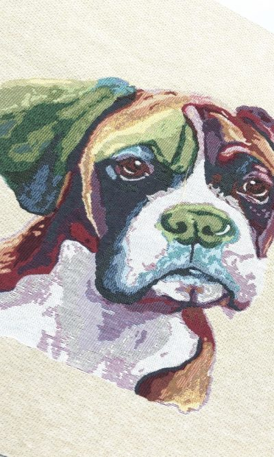 bulldog-woven-tapestry-square-panel